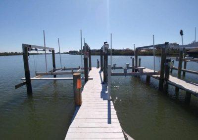 2 Docks and Davits