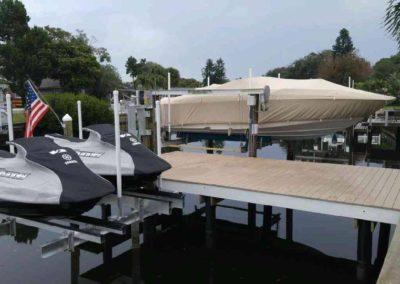 Dock with Sea Do - JetSki Lifts
