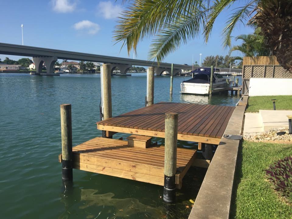 Dock Design & Build | Tampa Dock & Seawall