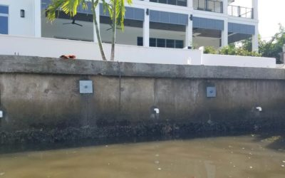 Concrete Seawalls vs. Vinyl Seawalls for Your Florida Home