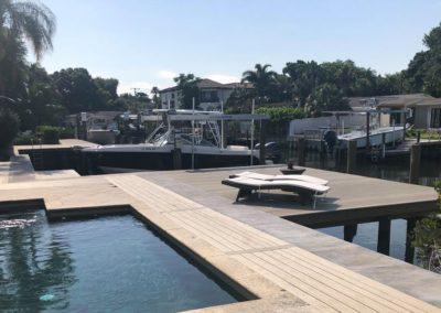 Custom Dock, Deck and Seawall
