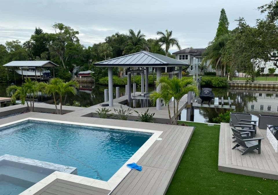 South Tampa Pool Deck and Dock