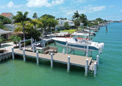 Treasure Island Dock Build Eco Friendly