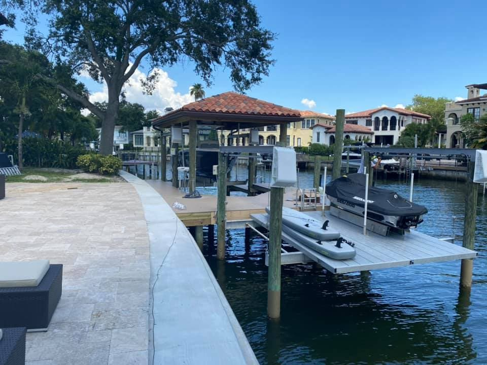 Davis Island PWC Dock