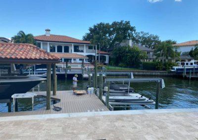 Davis Island Seawall, Dock and Boat House