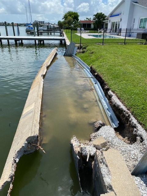 Pinellas County Seawall Repair